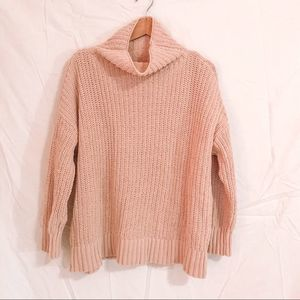Aerie Small Pullover Mock Neck Sweater
